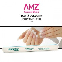 AMAZING SHINE - Lime à ongles - Speedy FIle 180/180 Verte