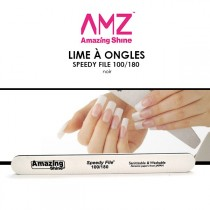 AMAZING SHINE - Lime à ongles - Speedy FIle 100/180 Noire