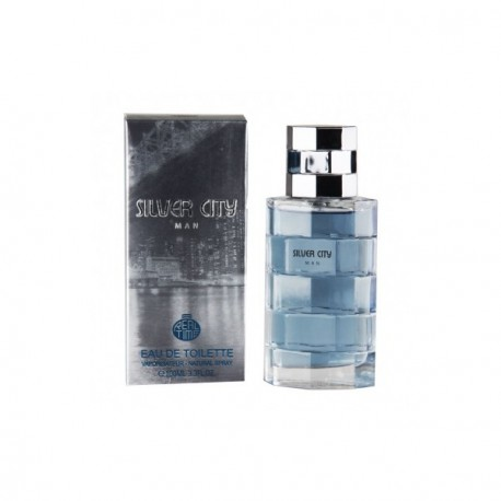 Real Time - SILVER CITY - Eau de toilette Homme - 100ml
