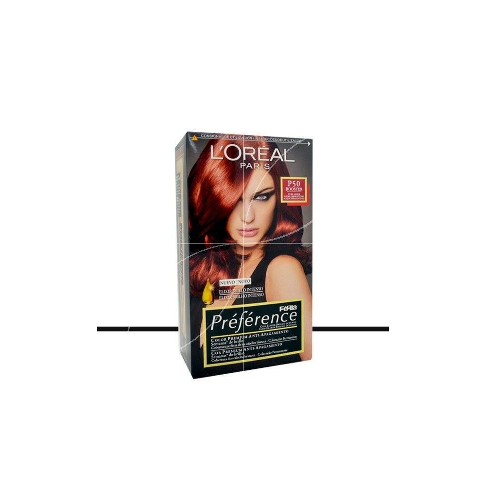 loral coloration prfrence p50 acajou pur - L Oreal Coloration Rouge