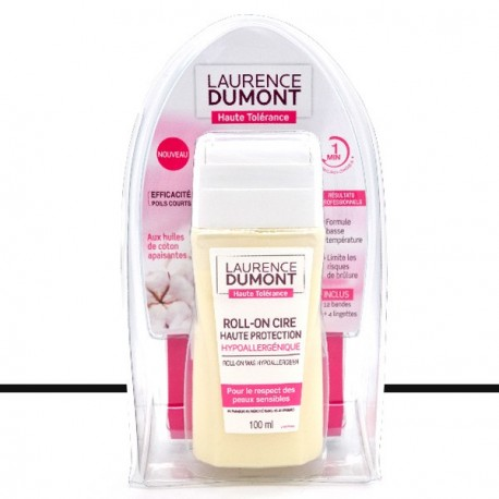 Laurence Dumont - Roll On Cire - Haute Protection - Hypoallergénique - 100ml
