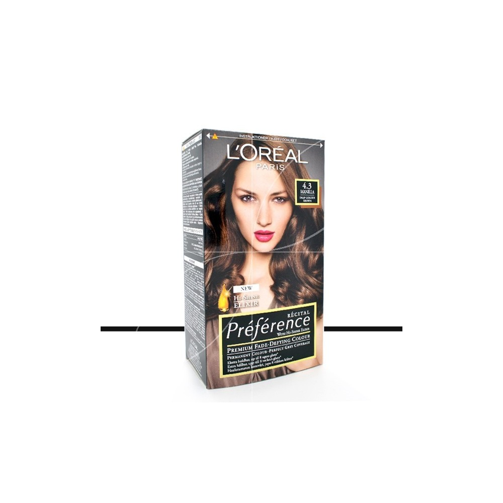 loreal coloration prfrence 43 manilla marron dor profond loading zoom - Coloration Blond Marron