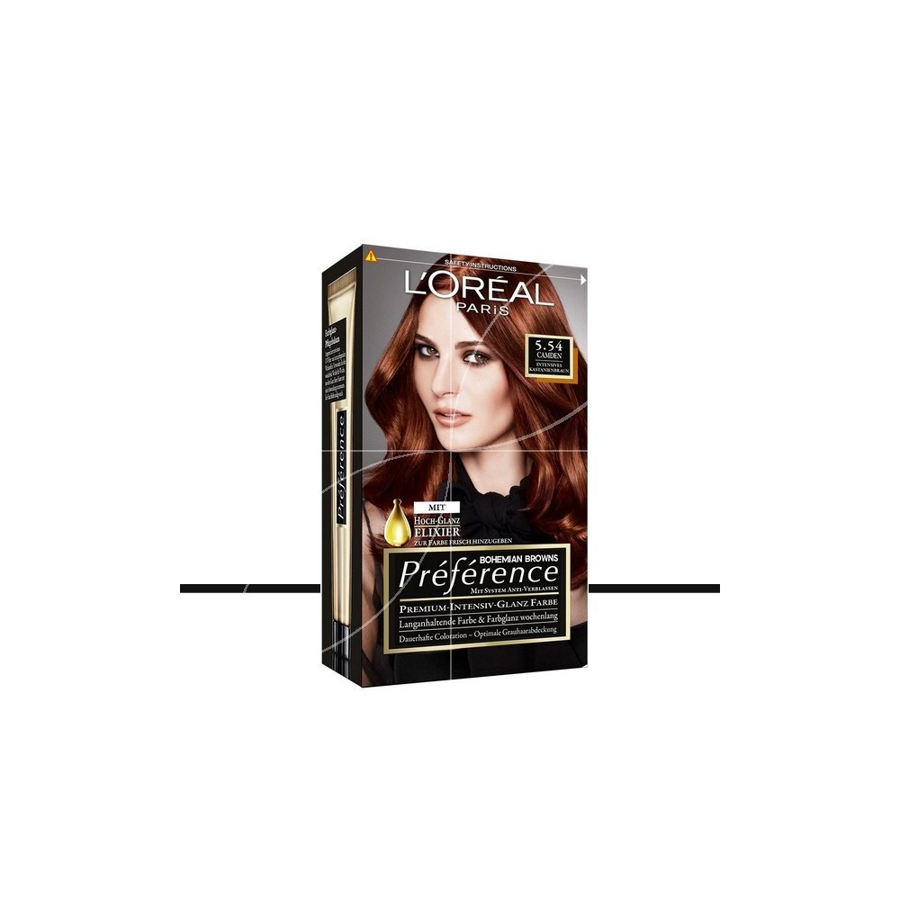 loral coloration prfrence 554 camden auburn intense - Coloration Cheveux Garnier