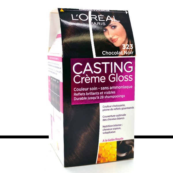 loral coloration casting crme gloss 323 chocolat noir - Coloration Gloss Chocolat