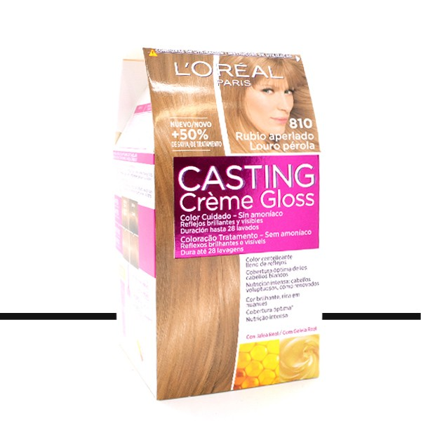 loral coloration casting crme gloss 810 blond perl - Casting Coloration