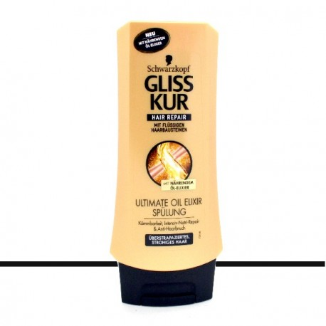 Schwarzkopf - Gliss Kur Après-shampooing Ultimate Oil Elixir - 200ml