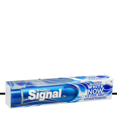 Signal - Dentifrice WHITE NOW Ice Cool Mint - 75ml