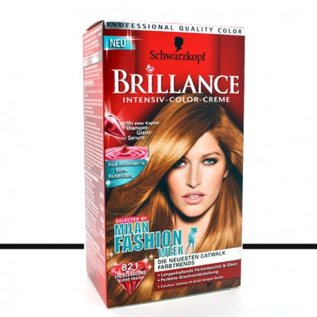Schwarzkopf - Coloration Brillance 821 Blond Fraise