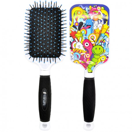 Perfect Beauty - Brosse à Cheveux Bifull Ergonmique - Worms