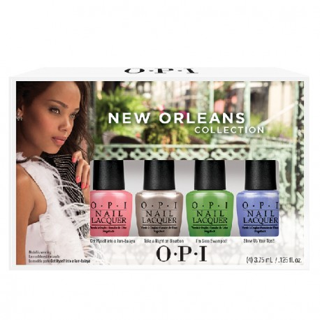 O.P.I - Vernis à ongles - Kit New Orleans Collection - 4x3,75ml