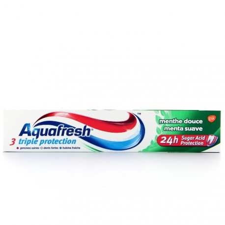 Aquafresh - Dentifrice Triple Protection Menthe Douce - 75ml