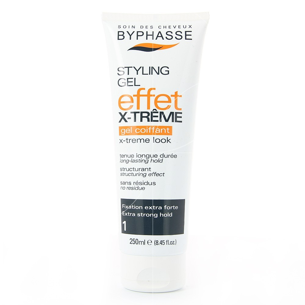 Byphasse - Styling Gel coiffant effet Extrême look Fixation extra forte - 250ml