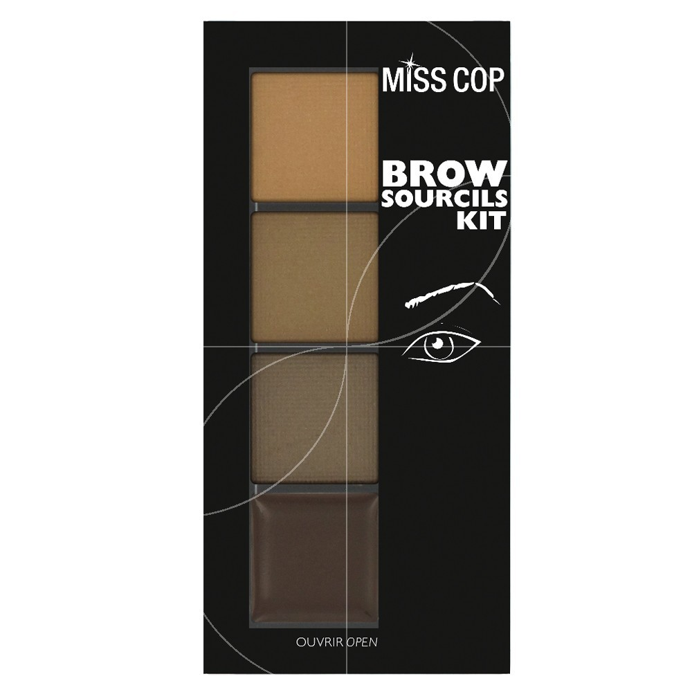 Miss Cop - Kit sourcils