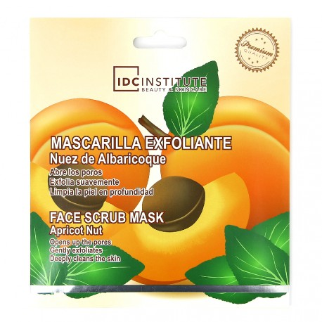 IDC Institute - Masque tissu exfoliant Abricot - 25g
