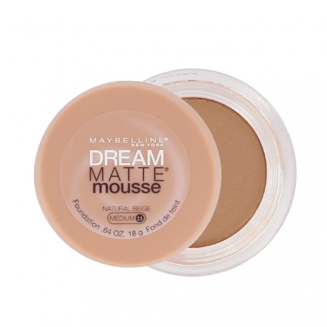 Maybelline - Dream Matte Mousse Fond de teint Natural Beige - 18ml