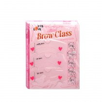 Yes Love - Kit Pochoirs sourcils 3 styles