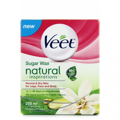 Veet - Natural Inspirations Cire au Sucre - 250ml