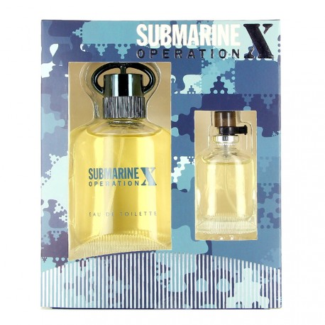 Real Time - Coffret Submarine Operation X - Eau de toilette homme + Miniature
