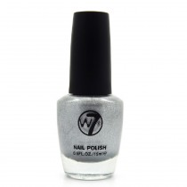 W7 - Vernis a ongles paillettes N°92 Silver Mirror