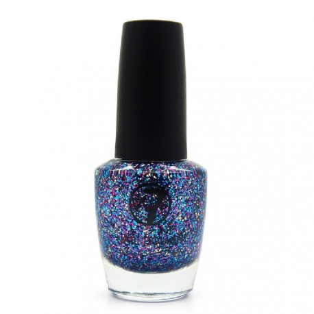 W7 - Vernis a ongles paillettes N°134 Multi Debris - 15ml