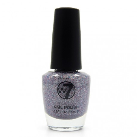 W7 - Vernis a ongles paillettes N°99 Moondust - 15ml