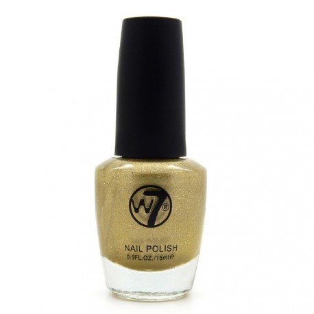 W7 - Vernis a ongles paillettes N°94 Gold Mirror