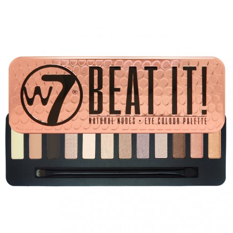 W7 - Palette Beat It - Natural nudes - 15.6g