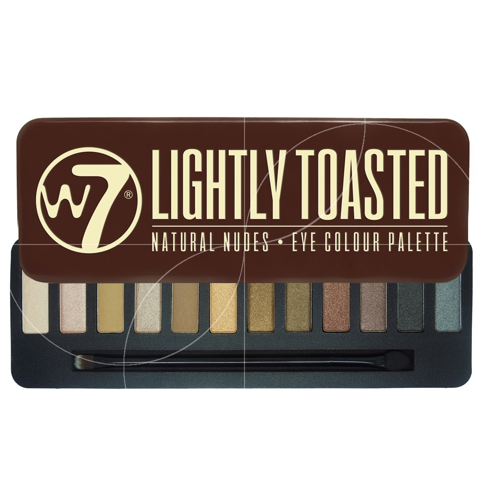 W7 - Palette Lightly Toasted - Natural nudes - 15.6g