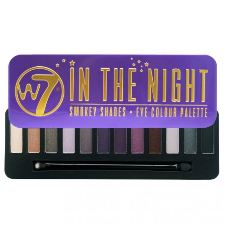 W7 - Palette In The Night - Smokey Shades - 15.6g