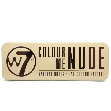 W7 - Palette Colour me Nude - Natural nudes - 15.6g