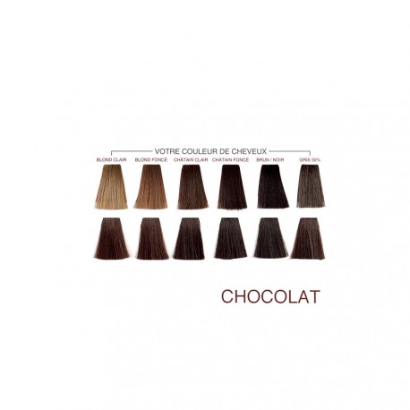 Henné Color - Crème Colorante Chocolat - 90ml