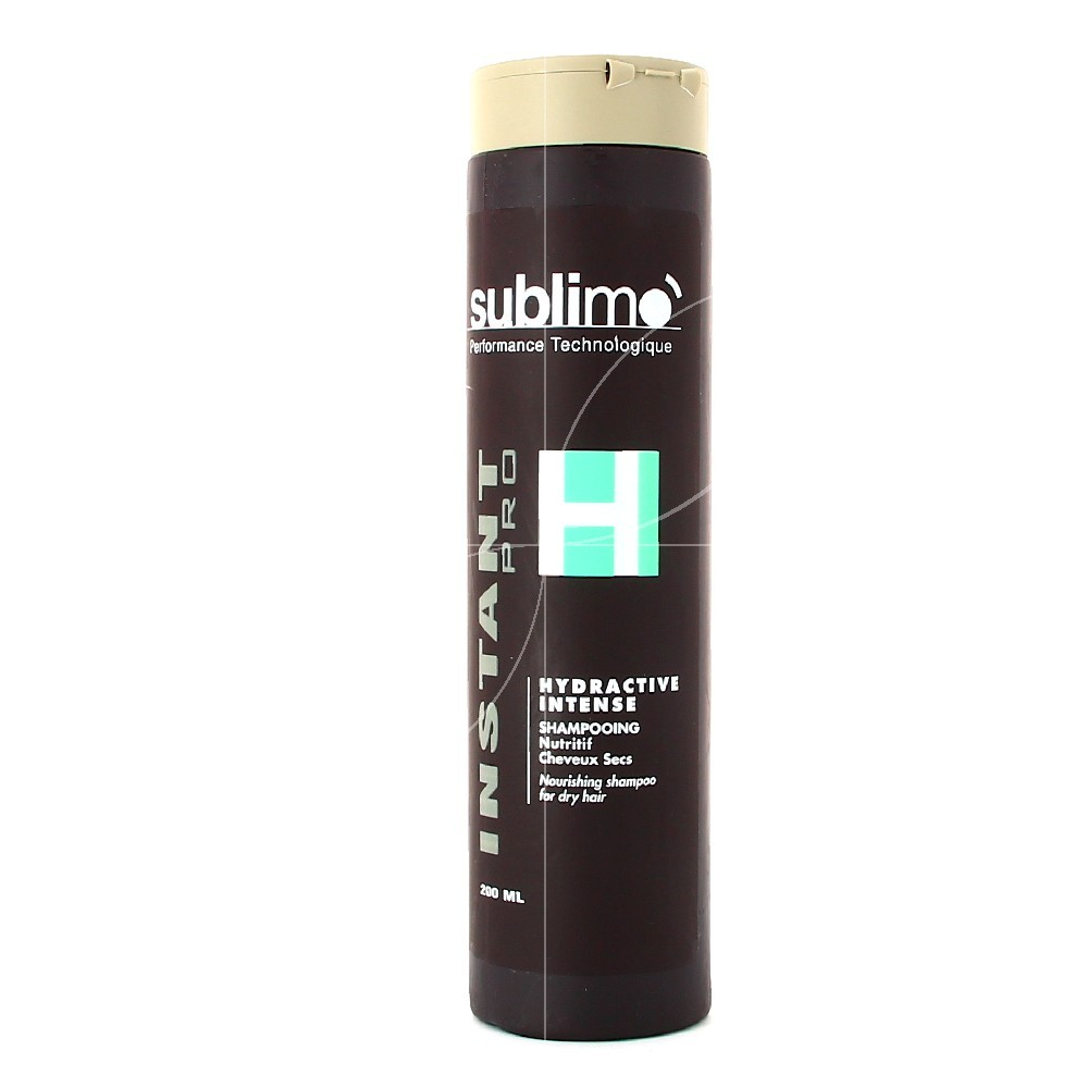 Sublimo - Hydractive intense - Shampooing nutritif - cheveux secs - 200ml