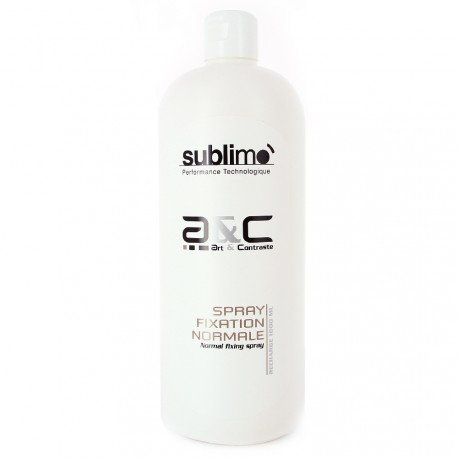 Sublimo - Art & contraste - Recharge spray fixation normale - 1 Litre
