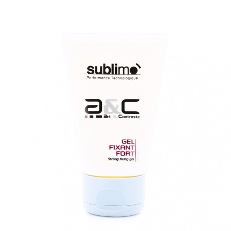 Sublimo - Art & Contraste - Gel Fixant Fort - 50ml