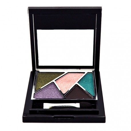 FAMOUS X - Palette High Five Ombre paupières - Marbella Night - 4,7g
