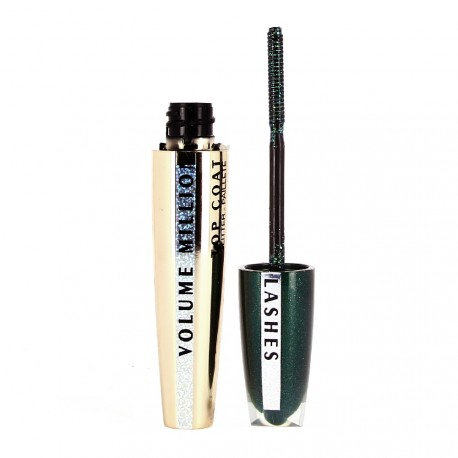 L'Oréal - Volume million Lashes - Mascara Top coat transparent Pailleté Vert
