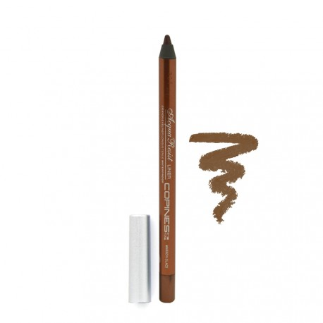 Copines Line - Crayon Acqua Resist Liner - Yeux Waterproof - 15 Marron Glaçé