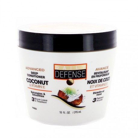 Daily Defense - Masque capillaire Noix de coco & vitamine E - 295ml