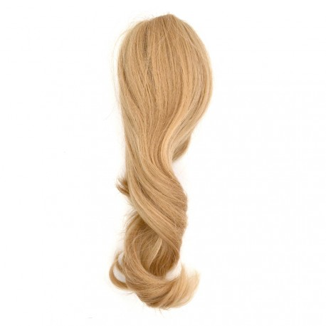 Sublim'Hair - Queue de cheval Séduction Blond naturel à pince - 30 cm