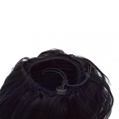 Sublim'Hair - Queue de cheval Elegance Noir Ebène - 35 cm