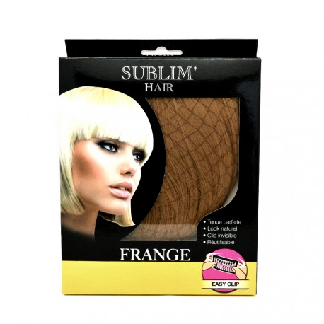 Sublim'Hair - Frange clipsable Chataîn doré