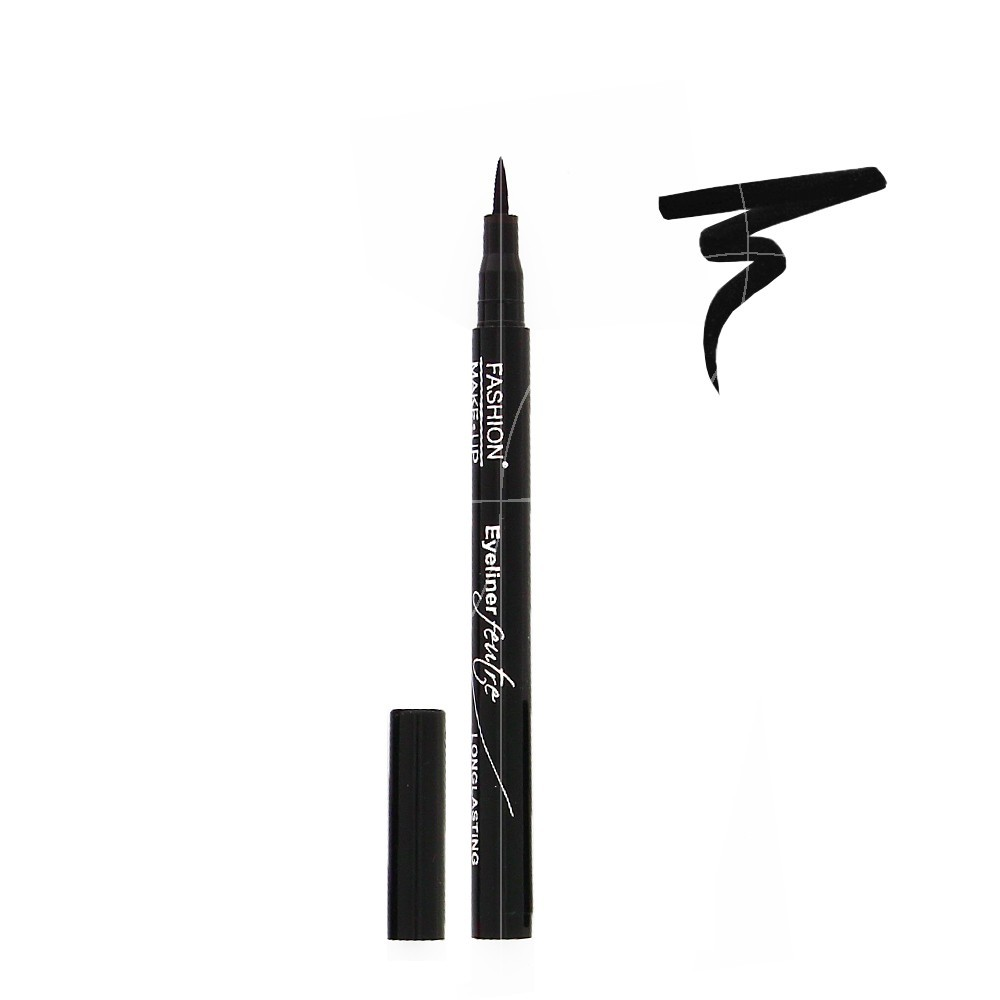 Fashion Make UP - Eyeliner Feutre Longue Tenue - Noir