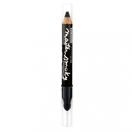 Gemey Maybelline - Master Smoky Crayon Double Embout - Noir