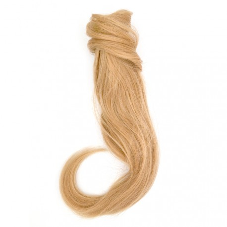 Sublim'Hair - Queue de cheval Classic Blond naturel à enrouler - 35 cm