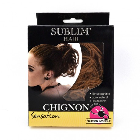 Sublim'Hair - Chignon Sensation Chataîn Doré