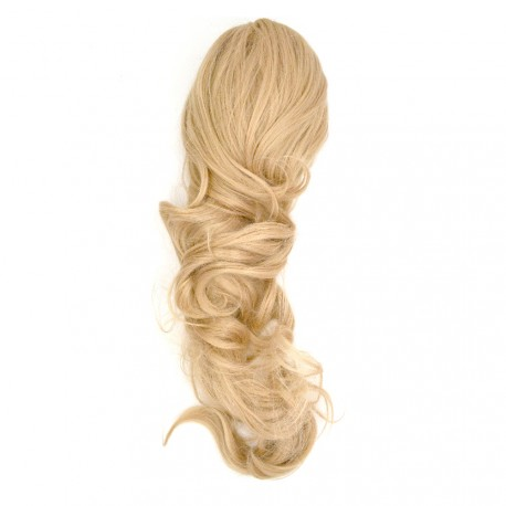 Sublim'Hair - Queue de cheval Glam Blond naturel - 50 cm