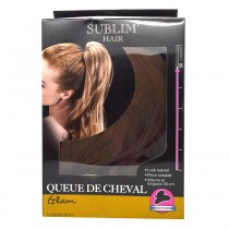 Sublim'Hair - Queue de cheval Glam Chataîn Doré - 50 cm