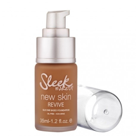 Sleek Make Up - Fond de Teint New Skin Revive 635 Russet - 35ml