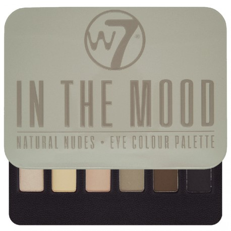 W7 cosmetics - Palette In the Mood 6 fards - 7g