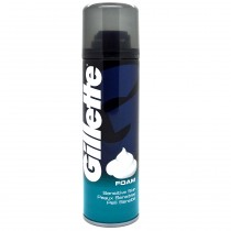 Gillette - Mousse de Rasage - Peaux Sensibles - 200ml